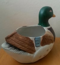 Hand Painted Ceramic Duck  Mississauga, L5N 2X2
