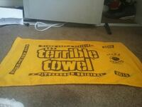 yellow and black The Terrible Towel banners North Las Vegas, 89031
