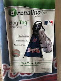 Braves Golf Bag Tag!