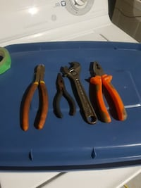 four assorted hand tools Edmonton, T5M 4A9