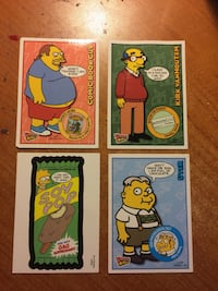The Simpsons Trading cards (4) Sainte-Julie, J3E