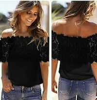 Black beautiful blouse sizeM
