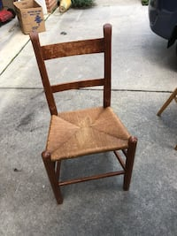 brown wooden framed brown padded chair Mount Airy, 21771