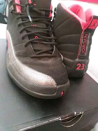 Size 7y black and red Air Jordan 23 shoe Fremont, 94555