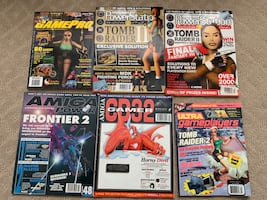 Video games magazines lot