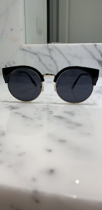 Black & Gold Sunglasses  Toronto, M9A 4E2