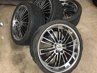 "19"" TSW 5x114.3 Staggered Wheels NEED TIRES Laurel, 20723"