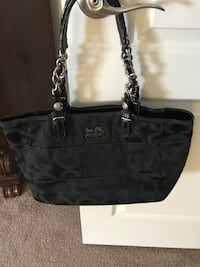 black Coach monogram tote bag Woodbridge, 22193