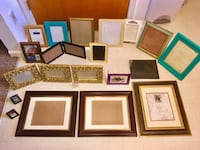 Picture frames various lot Saginaw charter township, 48603
