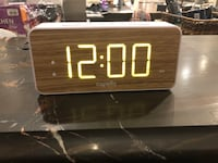 Capello Extra Large Display Digital Alarm Clock White/Pine  Ellicott City, 21042