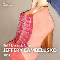 Jeffery cambell Oslo, 0984