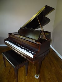 Antique 1930s Chickering Baby (Qtr) Grand Piano Franklin