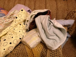 Baby bedding lot