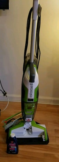 Bissell Crosswave wet/dry vac - barely used - 10mos old ---$175OBO Audubon