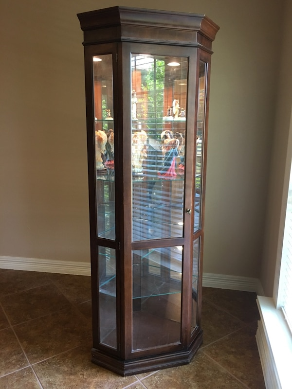 Used Philip Reinisch Curio Cabinet With Light For In Denton