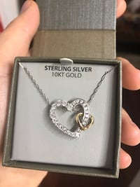 sterling silver heart necklace Rocky Hill, 06067