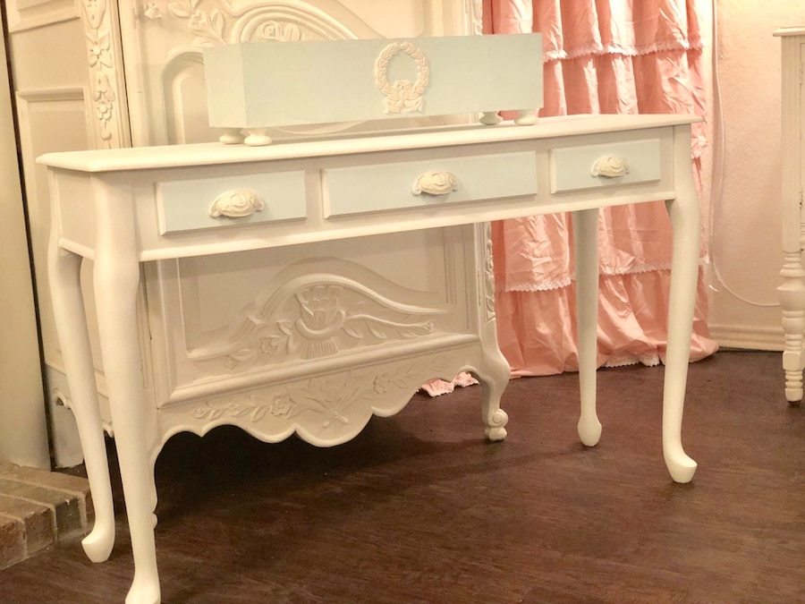 gorgeous coastal cottage console entry table usado en venta en rh es letgo com