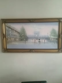 Painting & frame