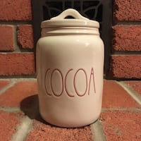 Rae Dunn Cocoa small canister (New) Burlington, L7L 5W9