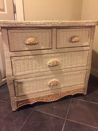 New Pottery Barn Wicker Dresser Washington, 20015