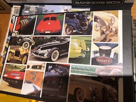 World's Greatest Cars with Stamps Book