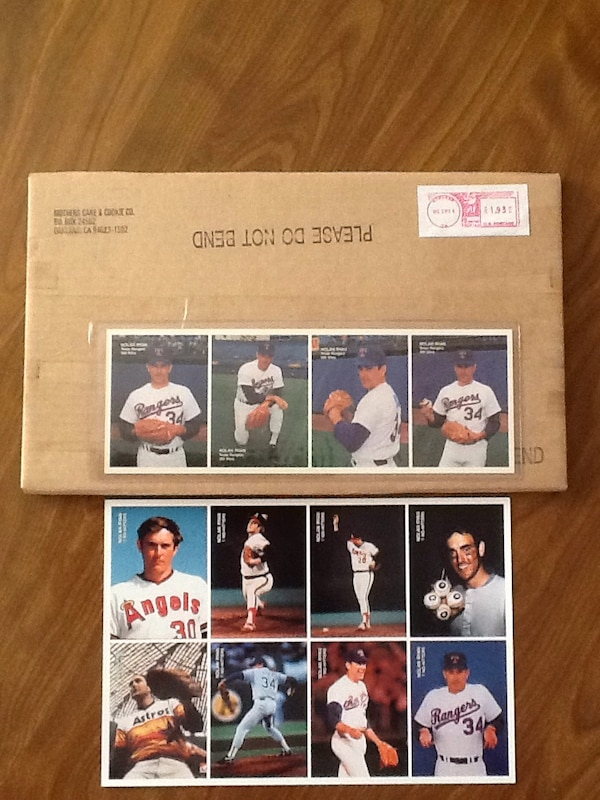 Mothers Cookies Baseball Cards