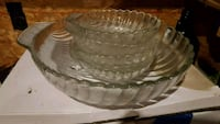 round clear cut glass bowl Nashville, 37205