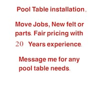 Message me for any of your pool table needs Sharonville, 45241