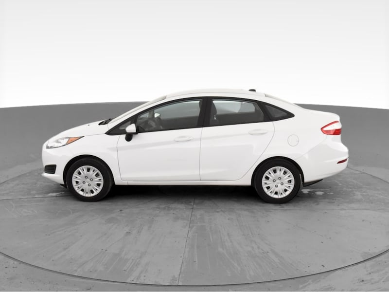 2017 Ford Fiesta sedan S Sedan 4D White <br /> 4