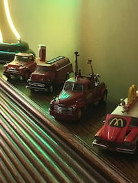 Collectible die cast cars and trucks