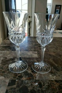 NEW Crystal Stemware set of 8 Gainesville, 20155