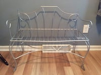 Wrought Iron Bench - Just Reduced!
