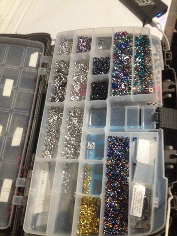 Chainmaille bracelet making supplies
