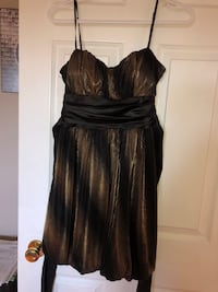 Black and gold teen dress 569 km