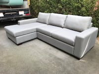Brand New $3500 Stylus Sectional Sofa Bed