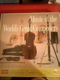 record Music of the world s Great Composers Charleston, 29401