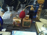 Nice collection of perfume bottles and accessories Montréal, H2C 1G1