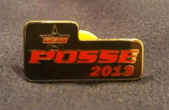2013 PBR Professional Bull Riders Lapel Pin