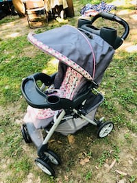 baby's black and gray stroller Ballwin, 63021