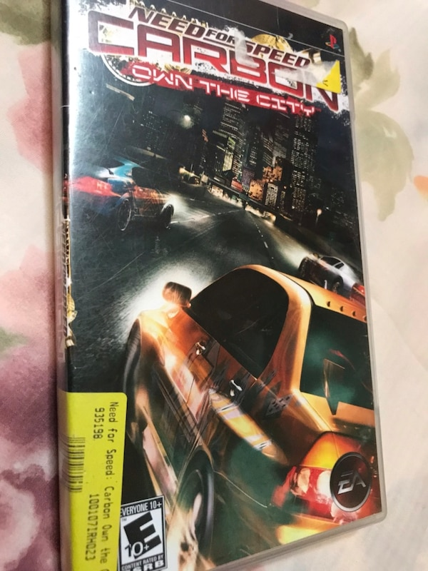 Need for speed carbon psp save