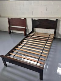 Solid Wood Twin Bed New York, 11423
