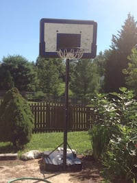black and gray basketball hoop Crozet, 22932