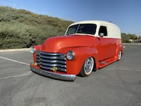 1952 Chevrolet Delivery No trim field Benicia