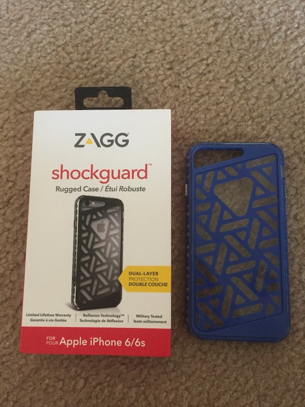 watch 80b93 a7cc2 IPhone 6/6s Case - Zagg Shockguard