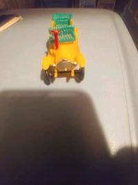 Vintage plastic toy car