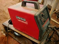 black and red Lincoln Electric welding machine Glade Hill, 24092