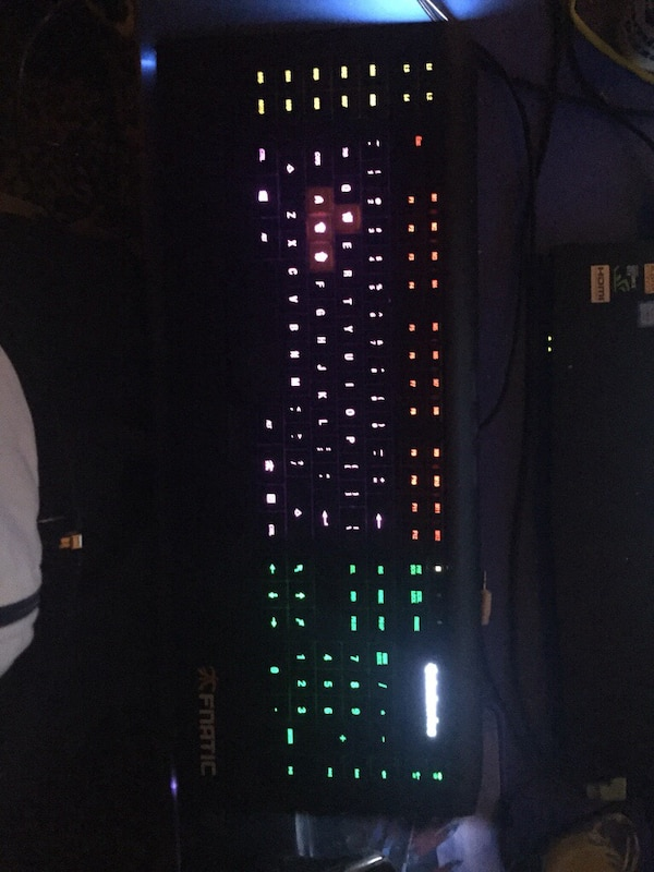 Steelseries apex 350 fnatic limited edition