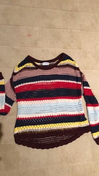 Pull & Bear sweater Spain sz S Potomac, 20854