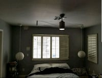 New bedroom lights and Fanlight with remote Las Vegas, 89102