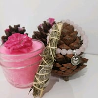 kit candle , bracelet, smudge stick  Toronto, M9W 2J2